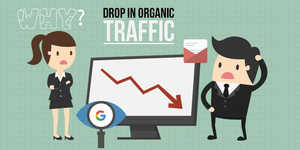 Why Your Organic Traffic Decline Suddenly?